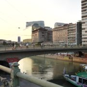 Busy-People-Walking-Bridge-On-Wien-In-1020-Bezirk-Streets-Of-Vienna-Austria-Schwedenplatz-Donaukanal-Stadtkanal-2_001 🔴  National Footage