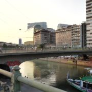 Busy-People-Walking-Bridge-On-Wien-In-1020-Bezirk-Streets-Of-Vienna-Austria-Schwedenplatz-Donaukanal-Stadtkanal-2_004 🔴  National Footage