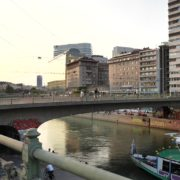Busy-People-Walking-Bridge-On-Wien-In-1020-Bezirk-Streets-Of-Vienna-Austria-Schwedenplatz-Donaukanal-Stadtkanal-2_005 🔴  National Footage