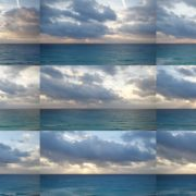 Beauty-clouds-and-sun-rays-timelapse-in-caribbean-sea-daylight-in-mexico National Footage