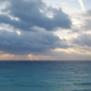 Beauty-clouds-and-sun-rays-timelapse-in-caribbean-sea-daylight-in-mexico_002 National Footage