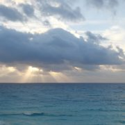 Beauty-clouds-and-sun-rays-timelapse-in-caribbean-sea-daylight-in-mexico_006 National Footage