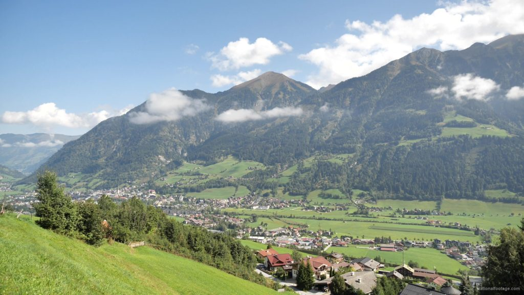 vj video background Hot-Fantastic-Summer-Weekend-Day-at-the-Bad-Gastein-in-the-Alps-Mountains-Austria-Timelapse-Full-HD-25fps-_003