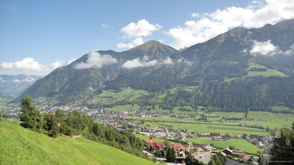 Hot-Fantastic-Summer-Weekend-Day-at-the-Bad-Gastein-in-the-Alps-Mountains-Austria-Timelapse-Full-HD-25fps-_004 National Footage
