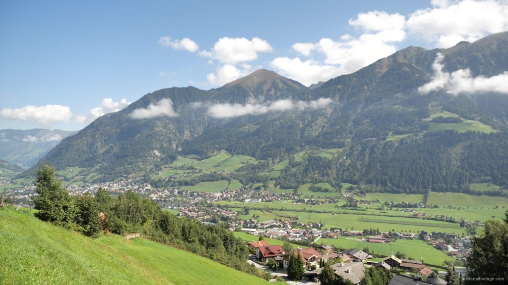 Hot-Fantastic-Summer-Weekend-Day-at-the-Bad-Gastein-in-the-Alps-Mountains-Austria-Timelapse-Full-HD-25fps-_007 National Footage