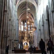 Timelapse-in-Church-Hall-European-Gothic-Temple-people_001 National Footage
