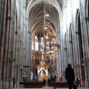 Timelapse-in-Church-Hall-European-Gothic-Temple-people_002 National Footage