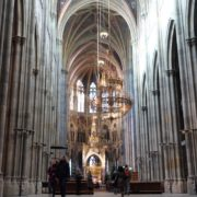 Timelapse-in-Church-Hall-European-Gothic-Temple-people_004 National Footage