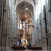 Timelapse-in-Church-Hall-European-Gothic-Temple-people_008 National Footage