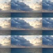 Carribean-Sea-and-Mexican-Sky-in-4K-View National Footage