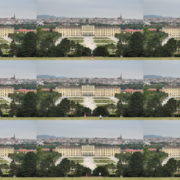 Hot-Awesome-Summer-Day-Pleasant-Trip-Schoenbrunn-Palace-at-Vienna-Austria-4K-25fps-Video-Footage National Footage