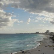 Long-beach-line-view-in-Cancun-Mexico-travel-timelapse_002 National Footage