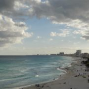 Long-beach-line-view-in-Cancun-Mexico-travel-timelapse_004 National Footage