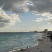 Long-beach-line-view-in-Cancun-Mexico-travel-timelapse_007 National Footage