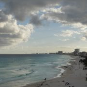 Long-beach-line-view-in-Cancun-Mexico-travel-timelapse_009 National Footage