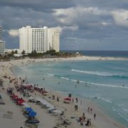 Mexican-cancun-city-beach-sea-view-timelapse-in-daylight_006 National Footage