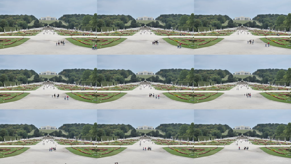 Sunny-Day-Awesome-Pleasant-Walk-Schoenbrunn-Palace-at-Vienna-Austria-4K-25fps-Video-Footage National Footage