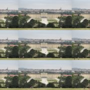 Warm-Beautiful-Weather-Schoenbrunn-Palace-at-Vienna-Austria-Timelapse-Full-HD-Video-Footage National Footage