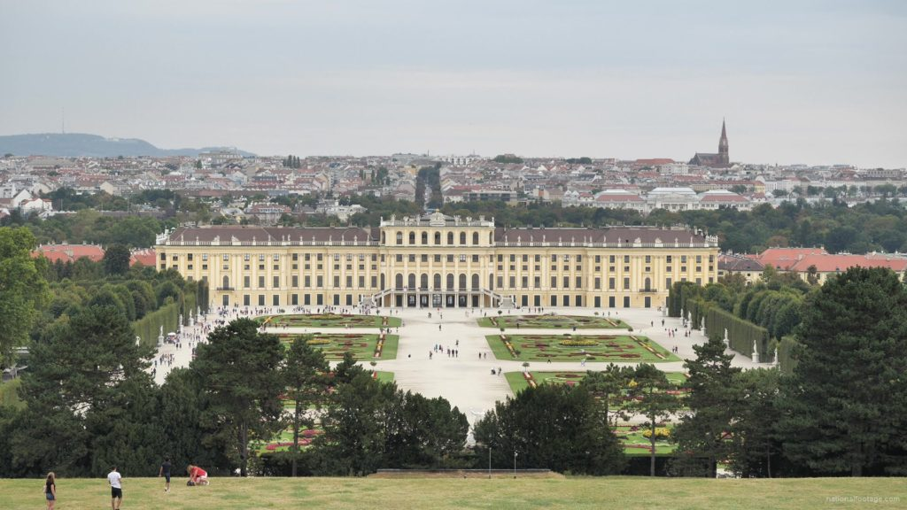 Warm-Beautiful-Weather-Schoenbrunn-Palace-at-Vienna-Austria-Timelapse-Full-HD-Video-Footage_006 National Footage