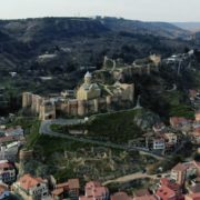 Ancient-Magic-castle-on-the-mountain-among-thousands-of-trees_002 National Footage