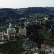 Ancient-Magic-castle-on-the-mountain-among-thousands-of-trees_006 National Footage