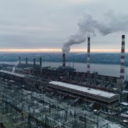 Atomic-power-station-from-the-height-of-a-birds-flight-during-working-hours_002 National Footage