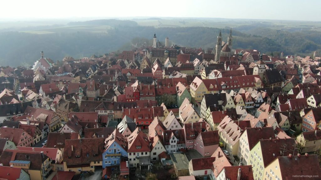 European-old-town-with-magnificent-views-over-many-mountains_002 National Footage