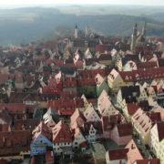 European-old-town-with-magnificent-views-over-many-mountains_004 National Footage