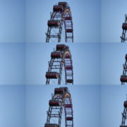 Ferris-Wheel-Magic-Das-Wiener-RIESENRAD-In-Prater-Vienna-Austria National Footage