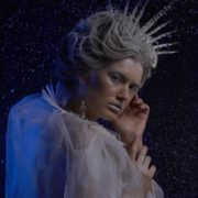 vj video background Ice-Queen-isolated-blonde-girl-over-black-background-with-glow-snow-and-blue-effect_003