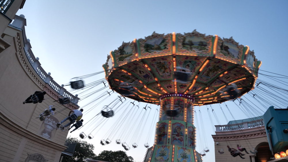 vj video background Incredible-Speed-Rotating-Wheel-Attraction-In-Prater-Vienna-Austria_003