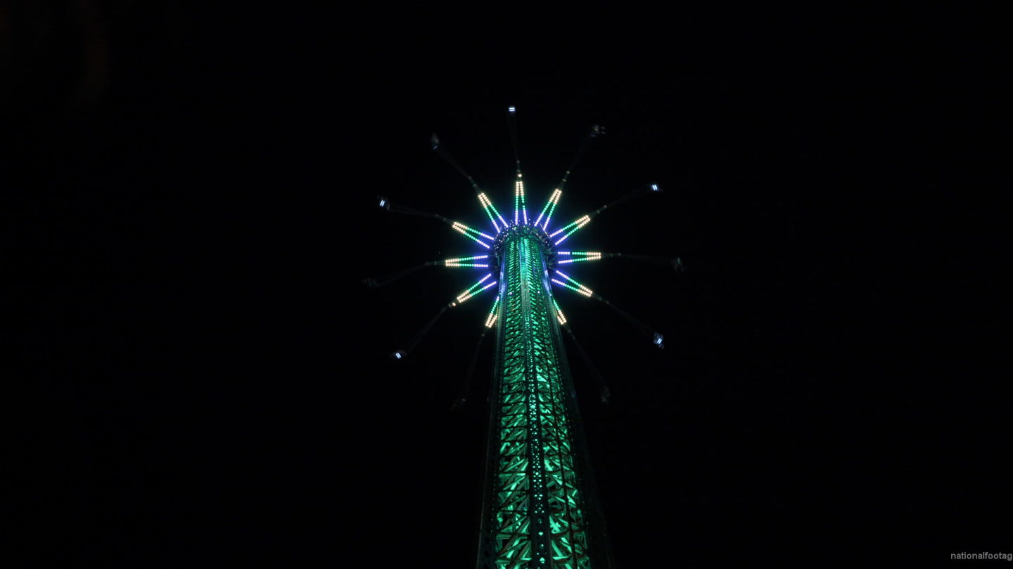 vj video background Led-Light-Attraction-In-Vienna-Prater-4K-Video-Footage_003