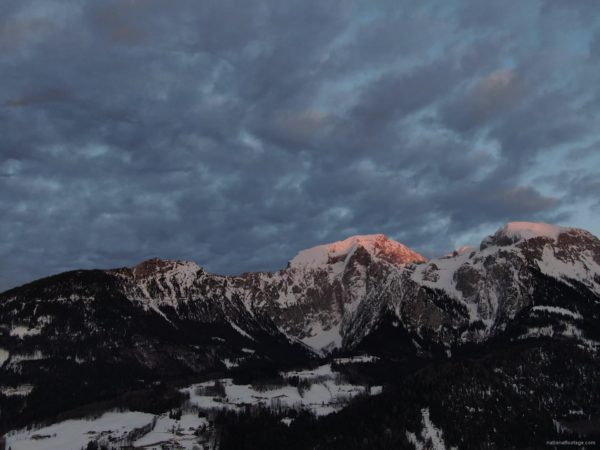 Rapid-flow-of-clouds-in-the-mountains-snow-capped-from-the-height-of-the-birds-flight-drones_009 National Footage