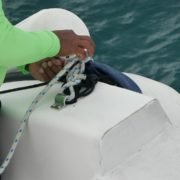 Sea-man-make-nodes-on-yacht-in-slow-motion_006 National Footage