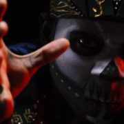 Shaman-Indian-tribe-with-a-painted-face-makes-magical-moves_005 National Footage