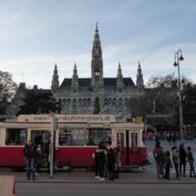 Timelapse-in-the-center-of-Vienna-Rathaus-Travel-people-tourists_001 National Footage