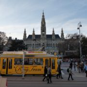 Timelapse-in-the-center-of-Vienna-Rathaus-Travel-people-tourists_002 National Footage