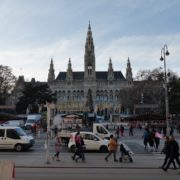 Timelapse-in-the-center-of-Vienna-Rathaus-Travel-people-tourists_005 National Footage