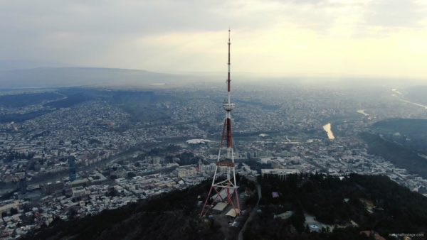 Viewing-mobile-TV-tower-from-the-birds-eye-view-above-the-big-city_005 National Footage