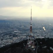 Viewing-mobile-TV-tower-from-the-birds-eye-view-above-the-big-city_009 National Footage