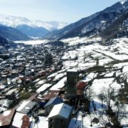 Winter-town-in-the-snowy-mountains-with-beautiful-views-and-ancient-towers_002 National Footage
