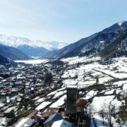 Winter-town-in-the-snowy-mountains-with-beautiful-views-and-ancient-towers_006 National Footage