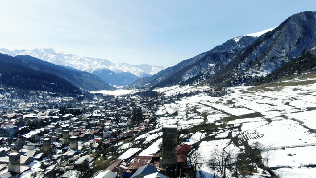 Winter-town-in-the-snowy-mountains-with-beautiful-views-and-ancient-towers_007 National Footage