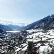 Winter-town-in-the-snowy-mountains-with-beautiful-views-and-ancient-towers_009 National Footage