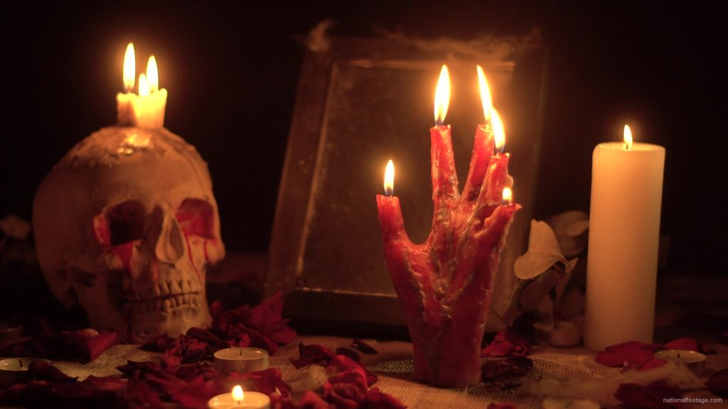 skull-with-a-candle-and-a-hand-in-the-form-of-a-candle-from-the-quench-of-the-wind_001 National Footage