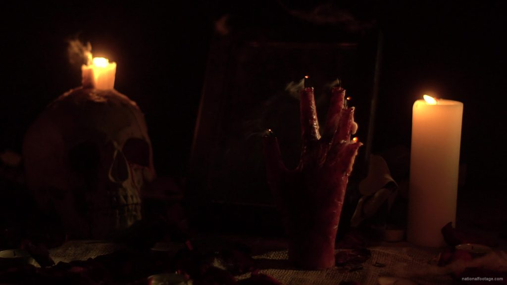 skull-with-a-candle-and-a-hand-in-the-form-of-a-candle-from-the-quench-of-the-wind_002 National Footage