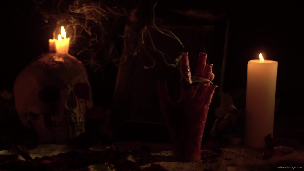 skull-with-a-candle-and-a-hand-in-the-form-of-a-candle-from-the-quench-of-the-wind_005 National Footage