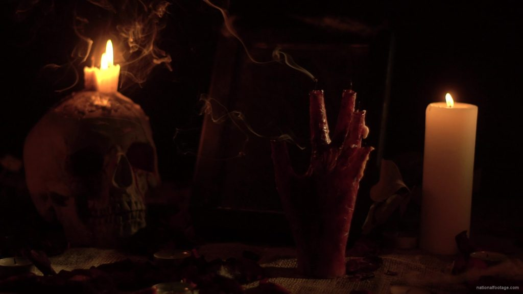 skull-with-a-candle-and-a-hand-in-the-form-of-a-candle-from-the-quench-of-the-wind_006 National Footage