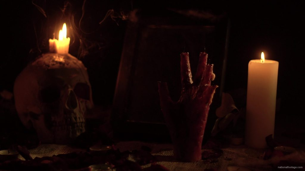 skull-with-a-candle-and-a-hand-in-the-form-of-a-candle-from-the-quench-of-the-wind_008 National Footage