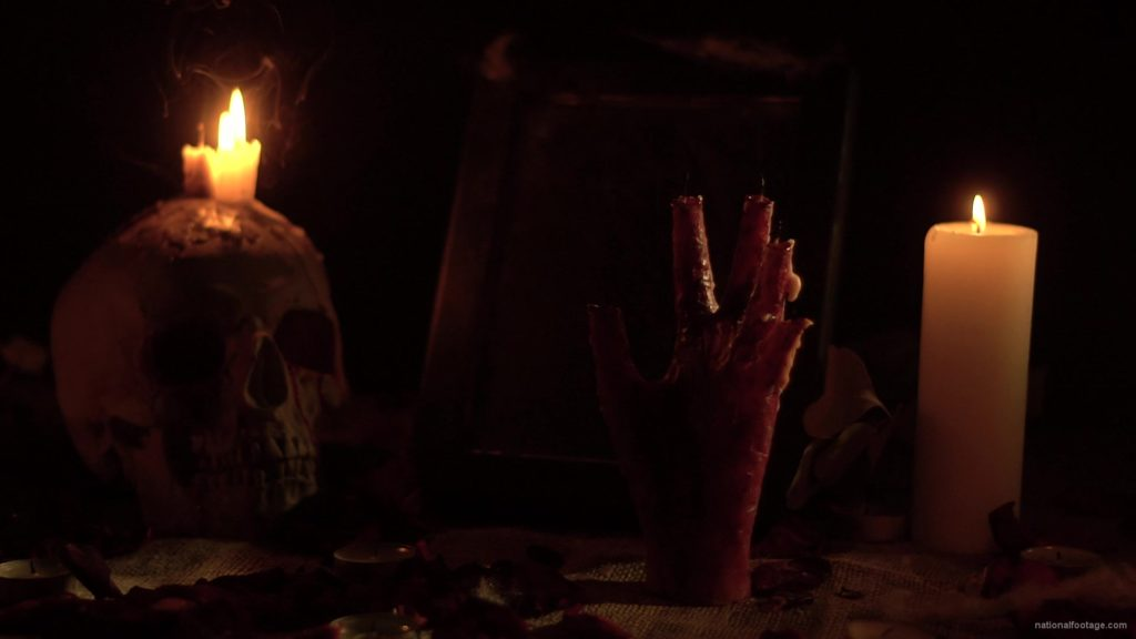 skull-with-a-candle-and-a-hand-in-the-form-of-a-candle-from-the-quench-of-the-wind_009 National Footage